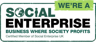 we are a social enterprise logo
